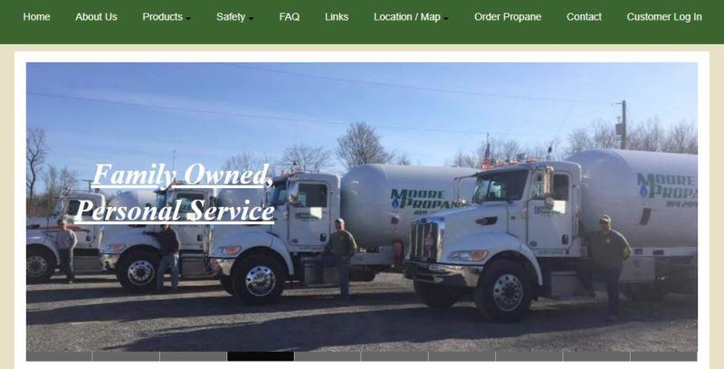moore propane home page