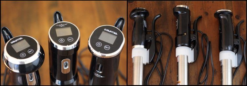 Comparing The Design Of Gourmia GSV130, NutriChef Prime, Gourmia GSV150