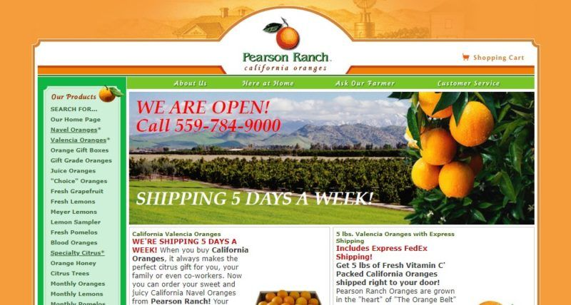 pearson ranch home page