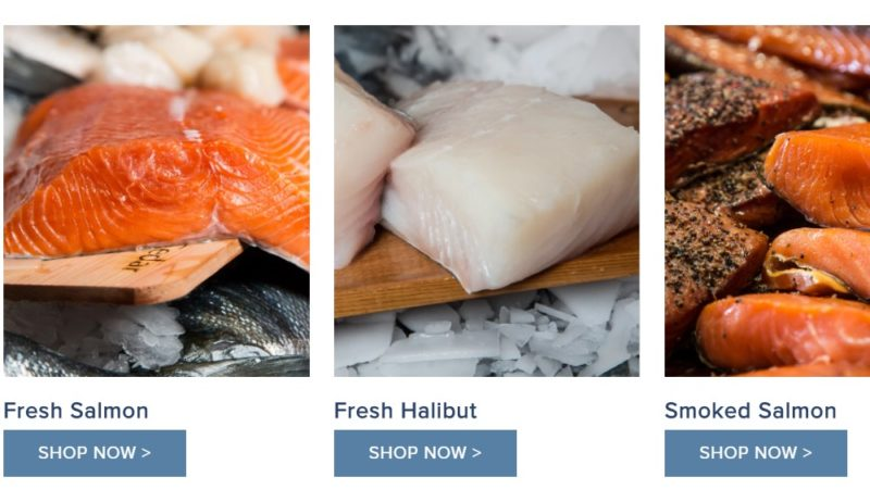 pure food fish market home page