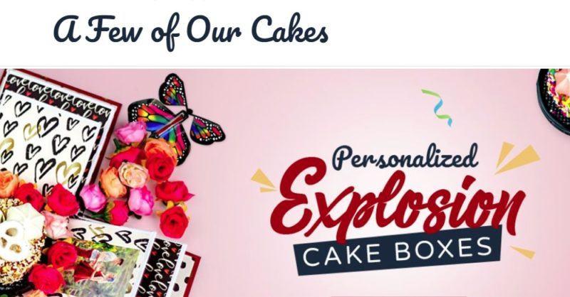 send a cake home page