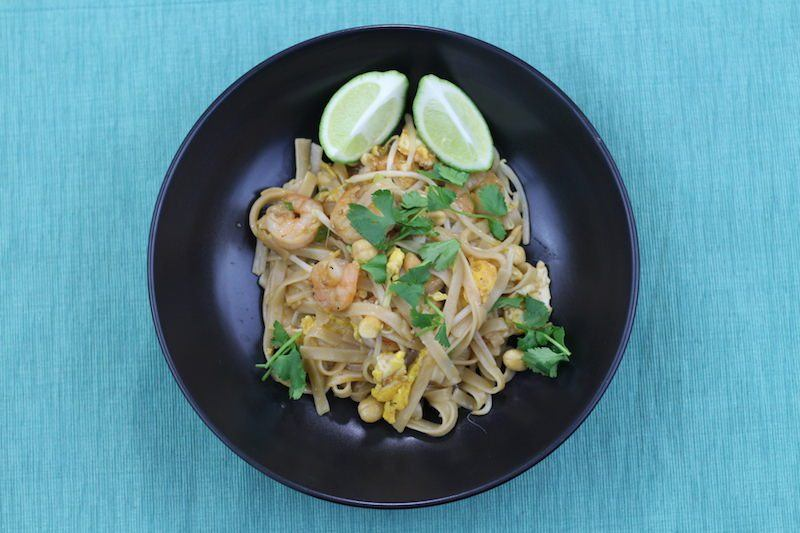 shrimp pad thai cooking final 3