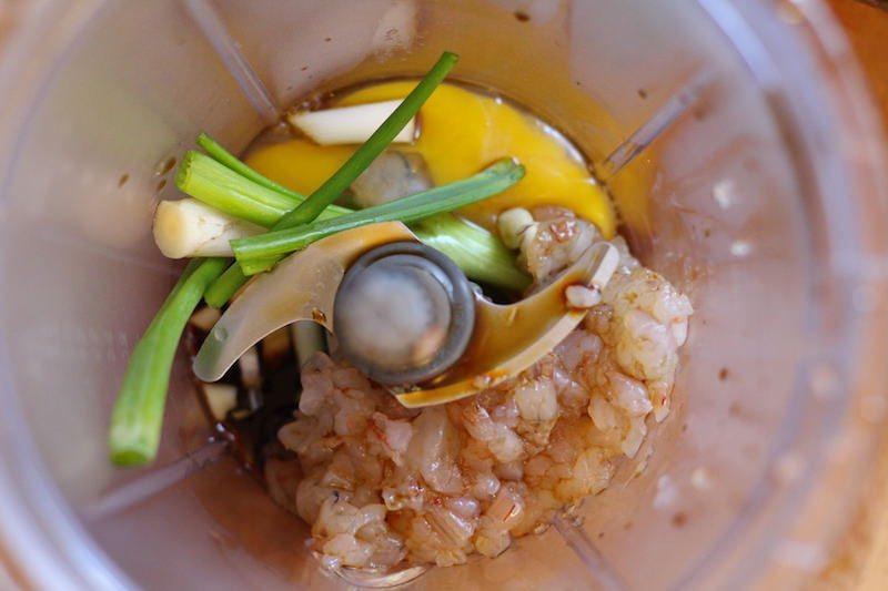 shrimp pot stickers filling