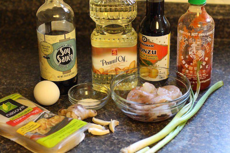 shrimp pot stickers ingredients
