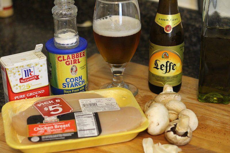slow cooker chicken marsala ingredients