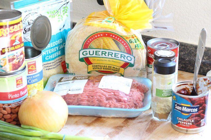 slow-cooker-enchilada-casserole-ingredients