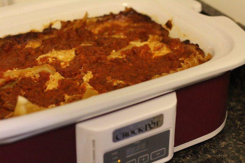 slow cooker lasagna crock pot
