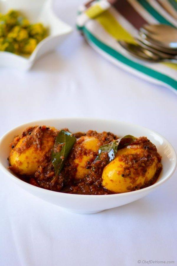 Andhra-Style Spice Egg Curry