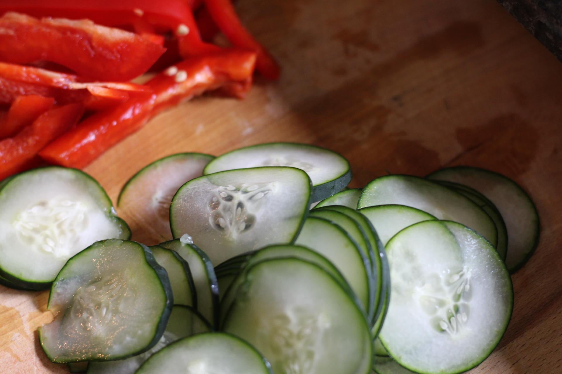 sriracha shrimp veggies