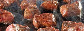 steak tips cast iron skillet