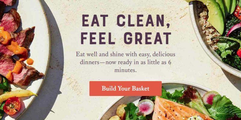sunbasket home page