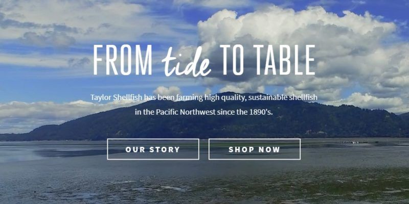 taylor shellfish farms home page