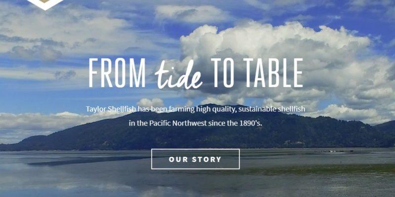 taylor shellfish farms home page