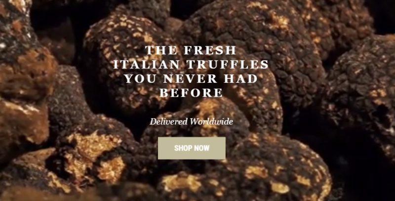 trovatore truffles home page