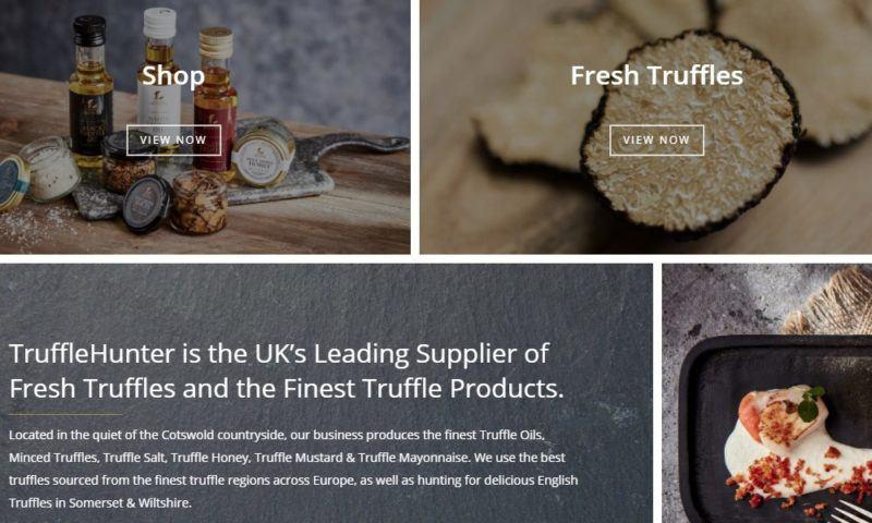 truffle hunter home page