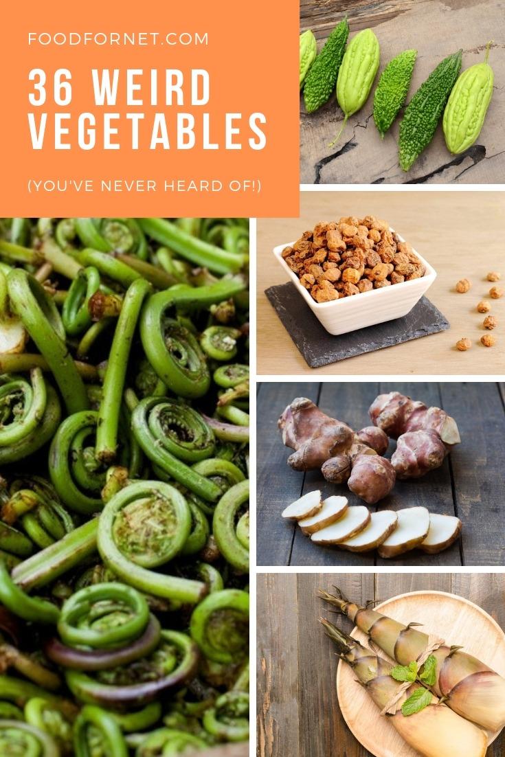 Weird Vegetables Names 8